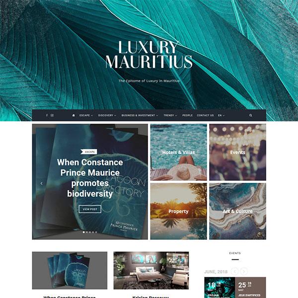 Luxury Mauritius Magazine