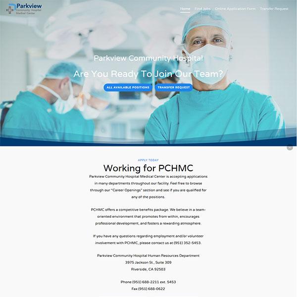 ParkView Hospital Jobs