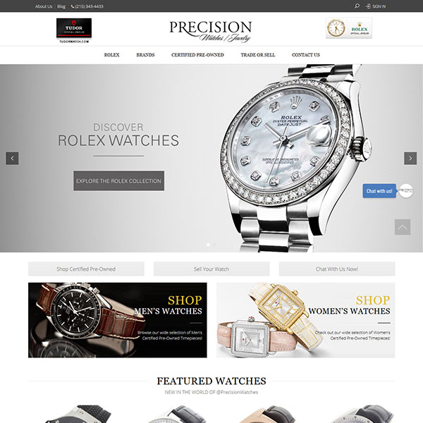 Precision Watches & Jewelry
