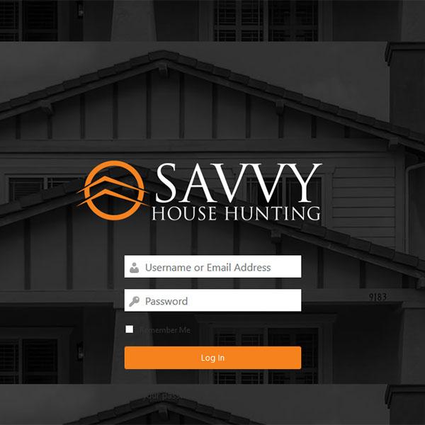 Savvy Homes Portal