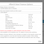 AfforditNOW Finance Payment Gateway